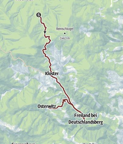 Karte / 5. Etappe: Jakobsweg Weststeiermark