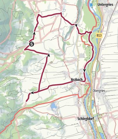 Karte / HK 52: Richard-von-Weizsäcker-Rundweg
