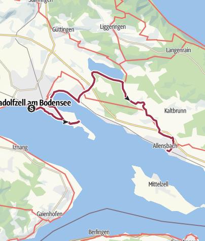 Karte / Naturerlebnisse bei Radolfzell