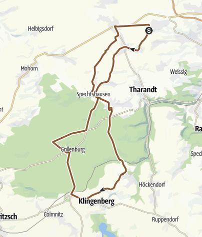 Karte / Kesselsdorf Dorfhain Kesselsdorf
