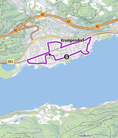 Map / Hotel Rosenheim Runde