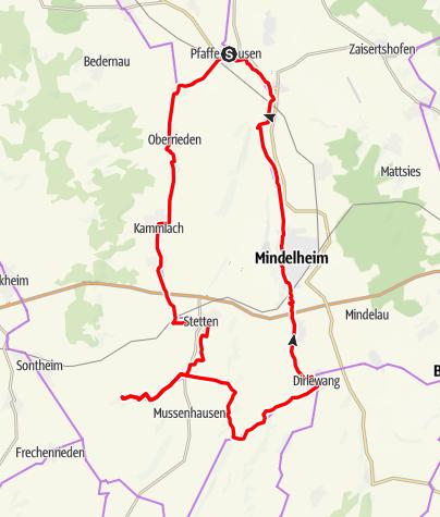Karte / Pfaffenhausen - Kammelquelle