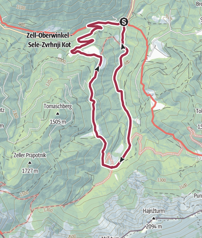 Map / Wassererlebnisweg Hainschgraben