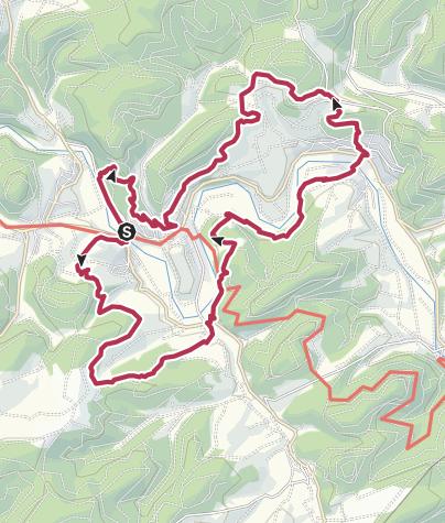 Map / Via Adrina – Die Eder-Wanderroute mit wundervollen Aussichten