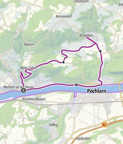 Map / Rundtour 03 - Artstetten