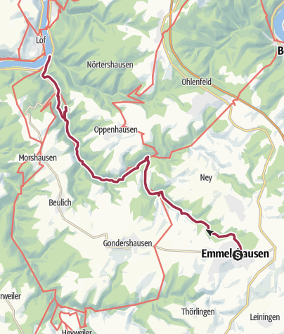 Karte / Ehrbachtal