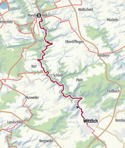 Eifel Karte Pdf.Eifel Lieserpfad Etappe 2 Manderscheid Wittlich Wanderung
