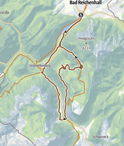 Karte / MTB: 15 - Anthauptenalm-Runde
