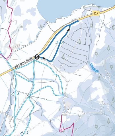 Karte / Zusatzrunde Bannwaldsee