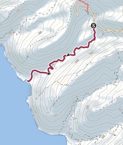 Karte / Durch die Schlucht von Masca