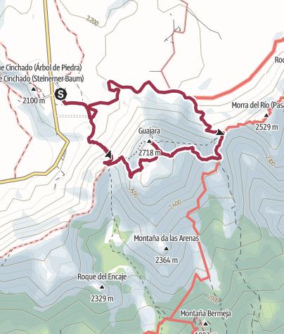 Karte / Auf den Guajara