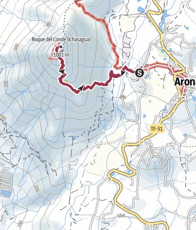 Karte / Auf den Conde