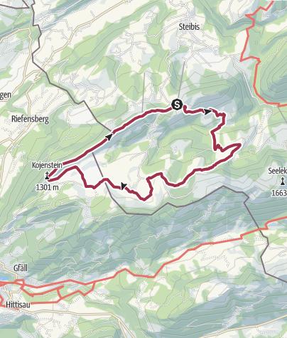 Map / Premiumwanderweg Alpenfreiheit