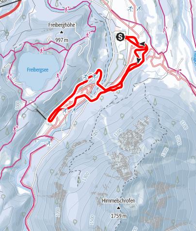 Karte / C - WM-Loipe Skiflugschanze - Burgstall - Zimmeroy