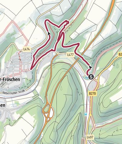 Karte / Steinenschlossweg