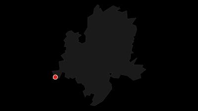 Karte / Winterliche Radrunde bei Lindau