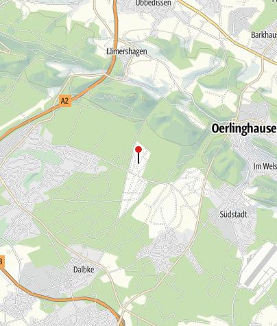 Karte / Ferienhaus Bielefeld
