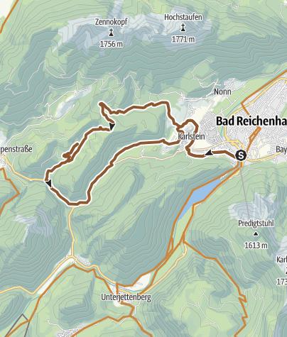 Karte / MTB: 18 - Höllenbachalm-Runde
