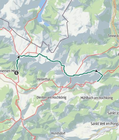 Karte / Steinernes Meer - Hochkönig