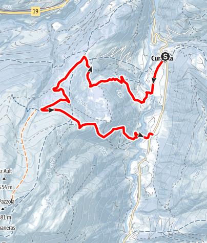 Map / Platta - Tegia Nova- Curaglia