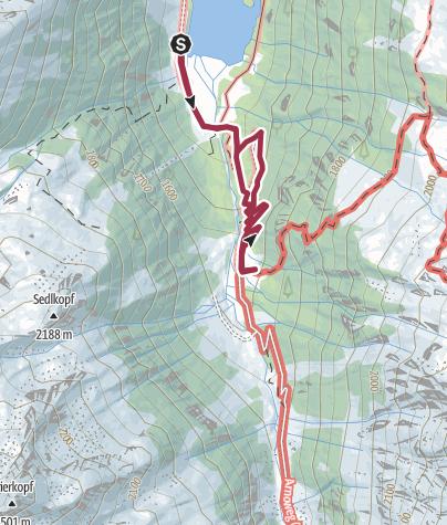 Karte / Leitenkammerklamm - Wildgerlostal