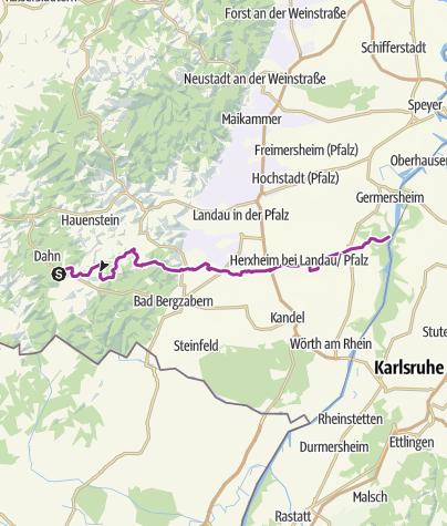 Karte / Klingbachweg