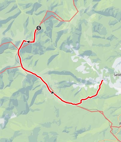 Karte / Vom Salzstiegl nach Hirschegg (Speikkogel/Bernsteinhütte)