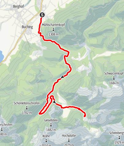 Karte / Kenzenhütte