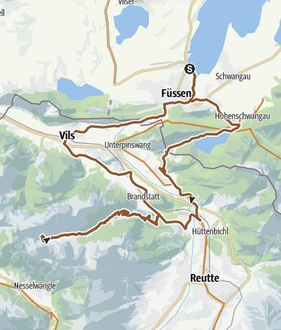 Karte / Musauer Alm
