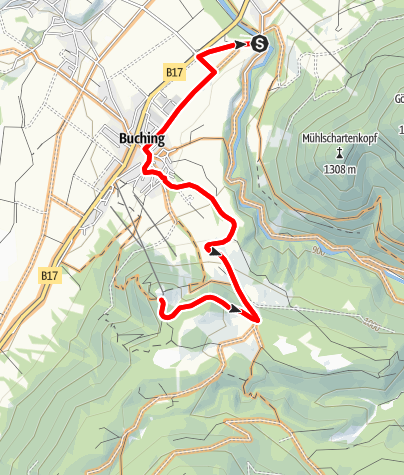 Karte / Buchenberg