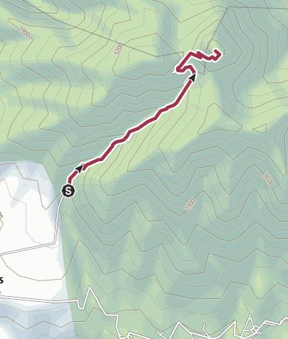 Mapa / Ruta desde Zamorano 21/04/2018 1:59:16 p. m.