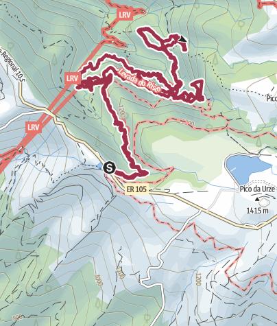 Mappa / RABAÇAL - LEVADA DAS 25 FONTES