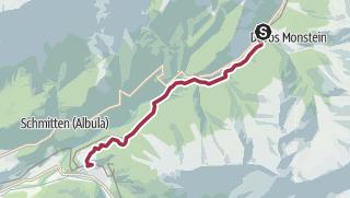 Map / Monstein – Zügenschlucht (Gorge) – Filisur