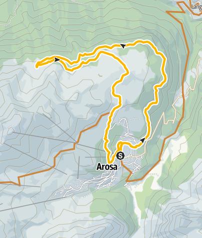 Map / 635 Arosa-Ochsenalp