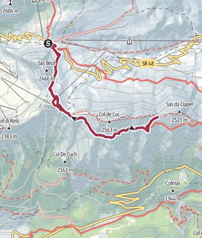 Karte / Der Bindelweg