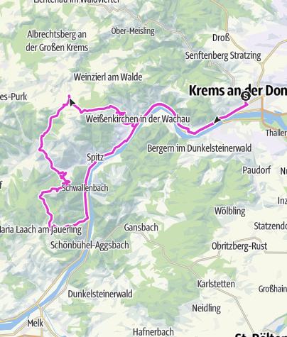 Karte / Großglockner-Training1