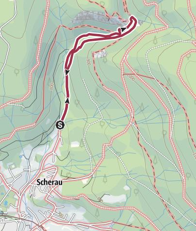 Mapa / Zu den Rieslochfällen