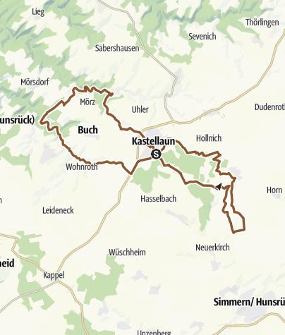 Map / Kastellauner Rad-Aktiv-Achter