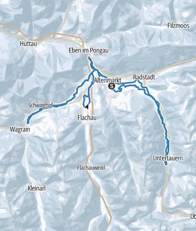 Karte / Tauernloipe
