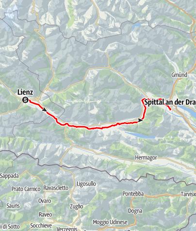 Karte / Drauradweg