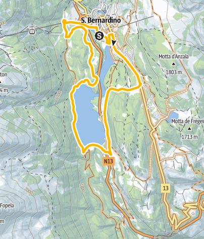 Map / Isola San Bernardino