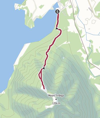 מפה / 20170604 Mt Te Kinga