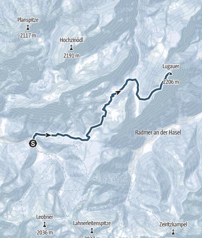 Map / Lugauer - Das steirische Matterhorn