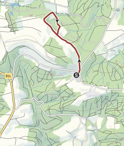 Karte / Lehrpfad Naturspur