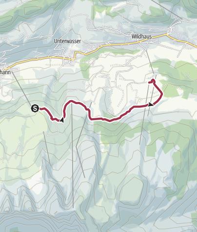Map / Klangweg Toggenburg