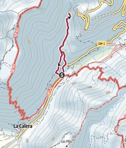 Map / To the waterfall at El Guro