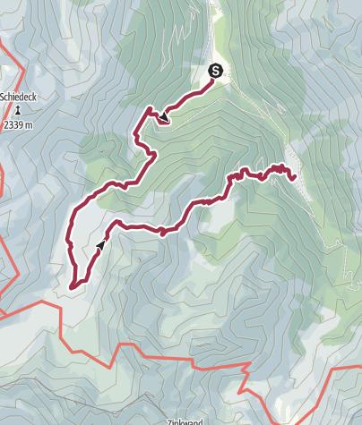 Map / Alp Tour Obertal