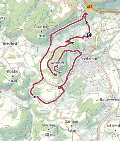 Karte / Zum Weiselberg-Gipfel