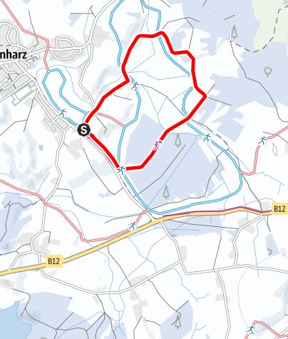 Karte / Argenbühl - Eisenharzer Moos
