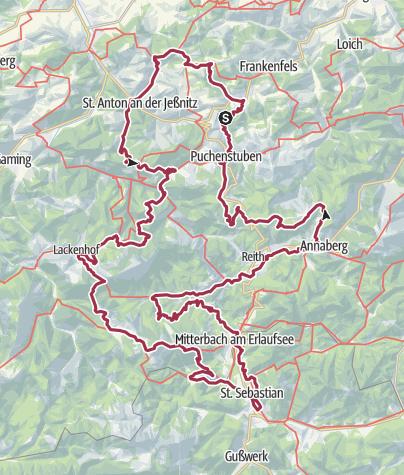 Karte / Ötscher-Rundwanderweg